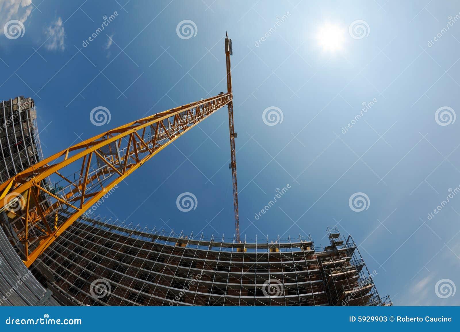 Grue et construction de construction