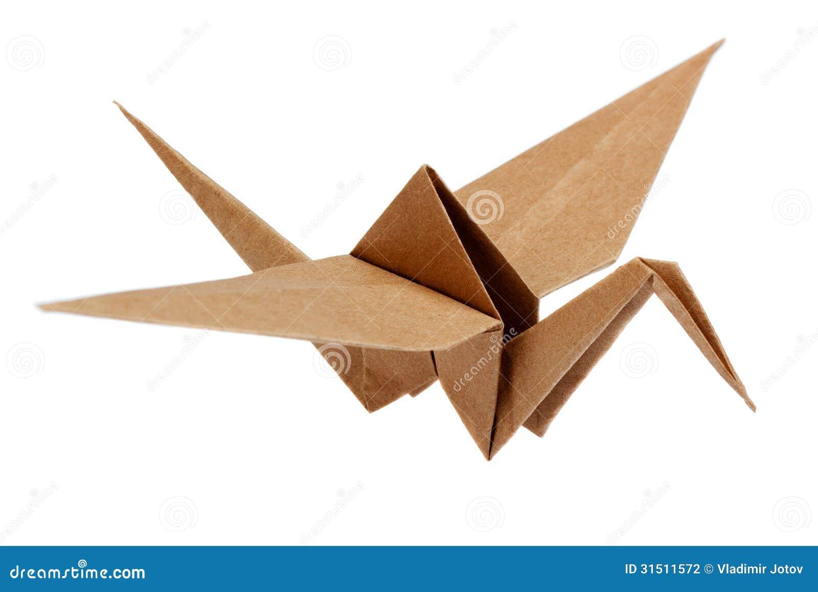 grue japonaise traditionnelle d 39 origami photo stock image du asie gibier 31511572. Black Bedroom Furniture Sets. Home Design Ideas