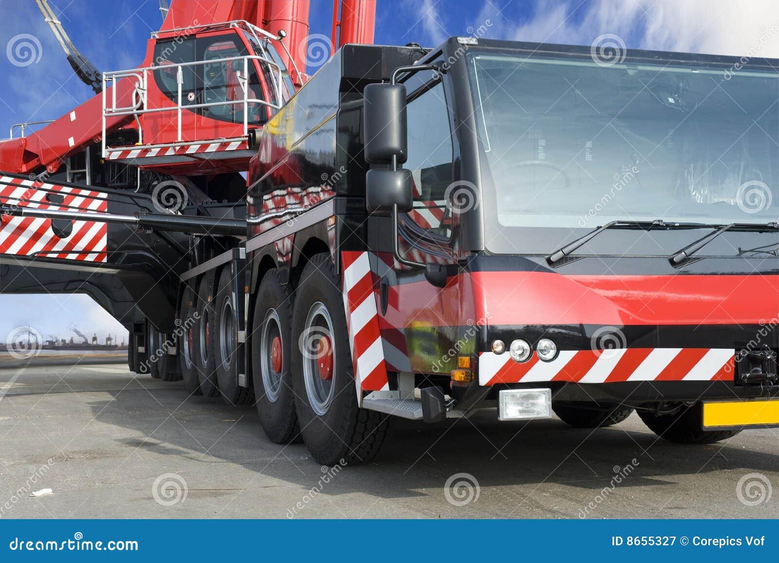 Grue mobile énorme