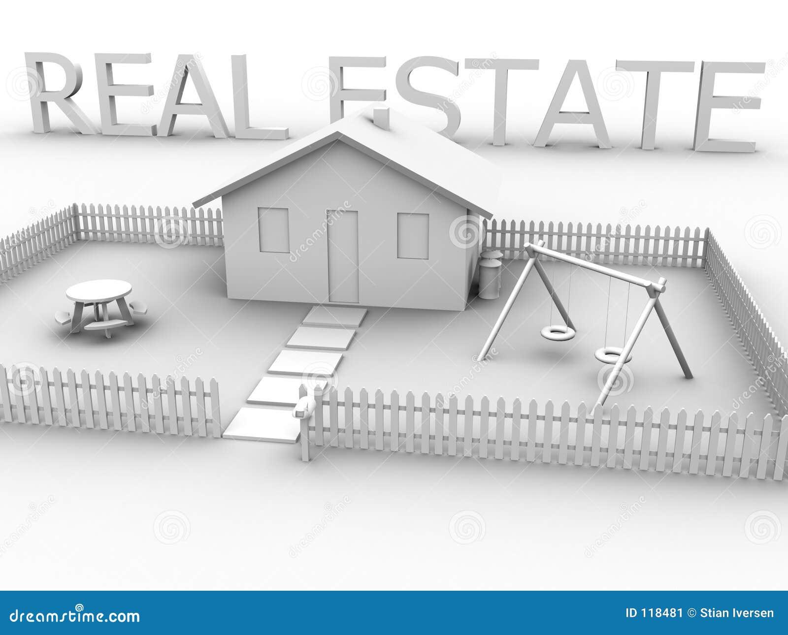 Grundbesitz mit Haus