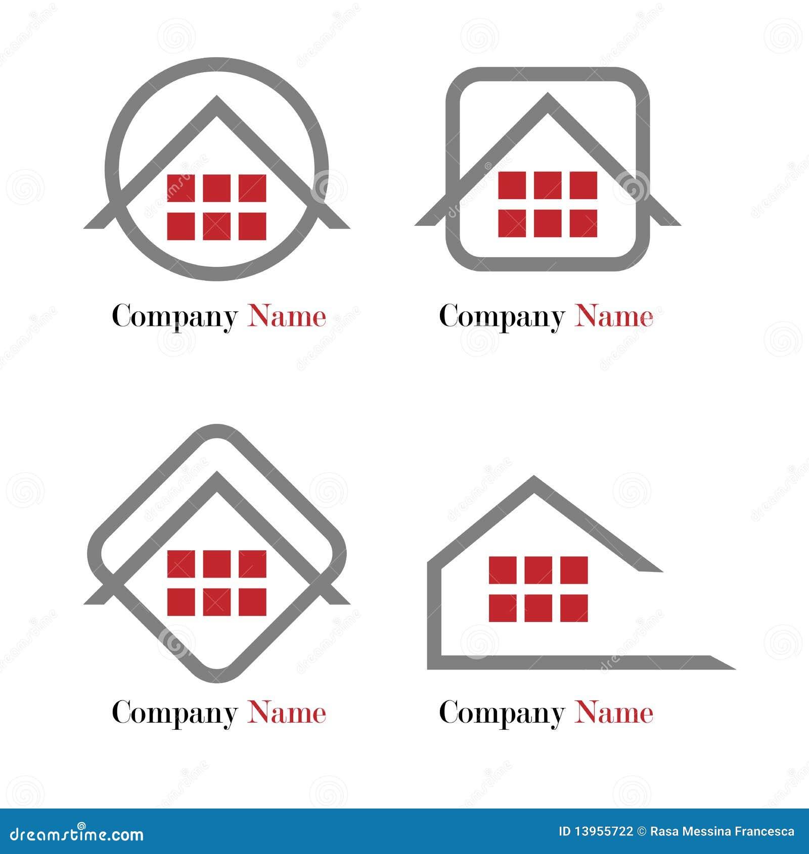 Grundbesitzzeichen - Rot und Grau