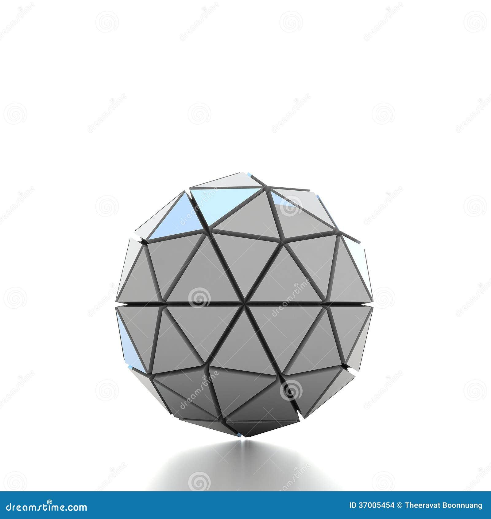 grundlegende geometrische formen der illustration 3d stock abbildung bild 37005454. Black Bedroom Furniture Sets. Home Design Ideas