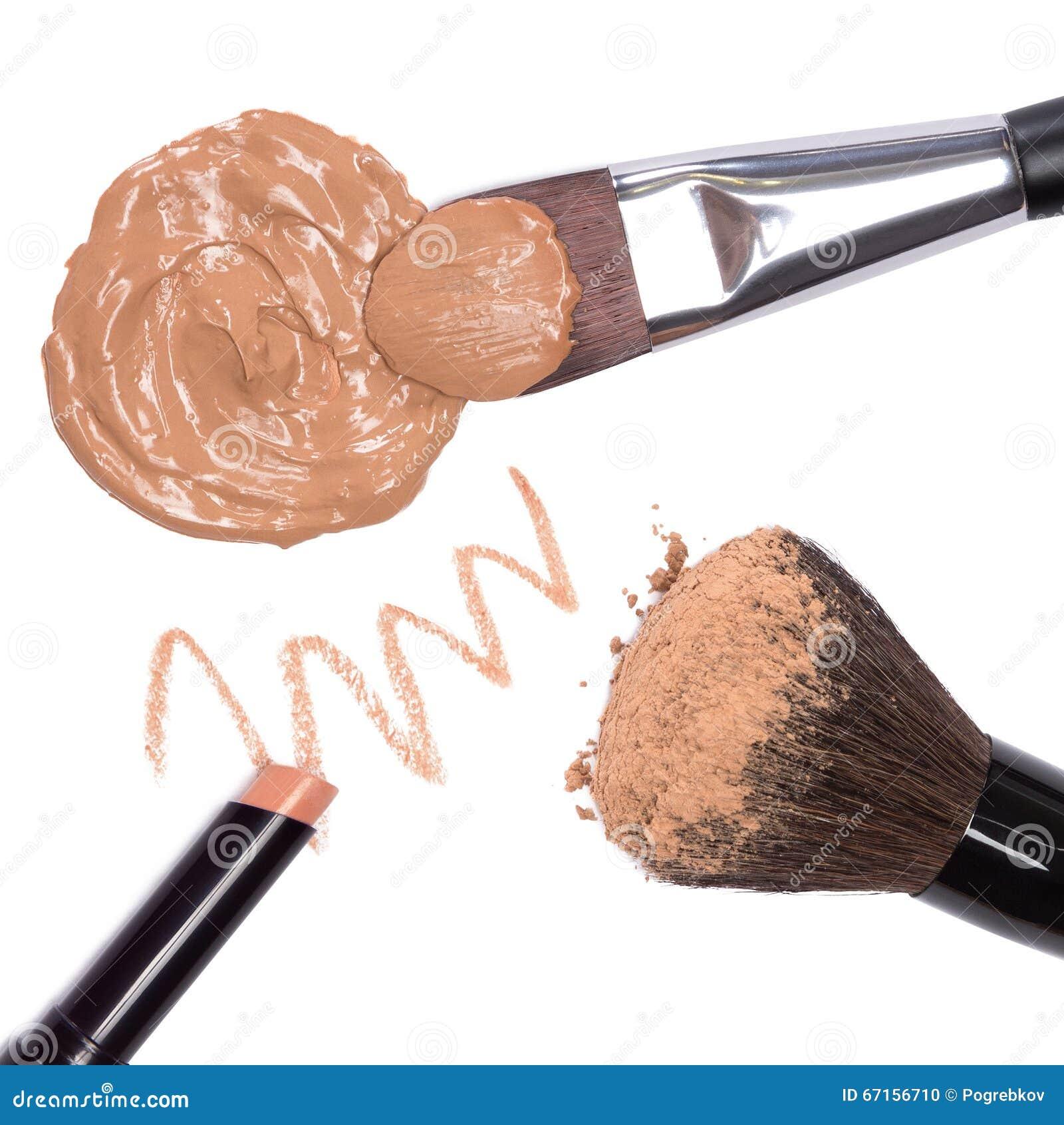 Grundlegende kosmetische Produkte, zum des schönen Hauttones zu schaffen