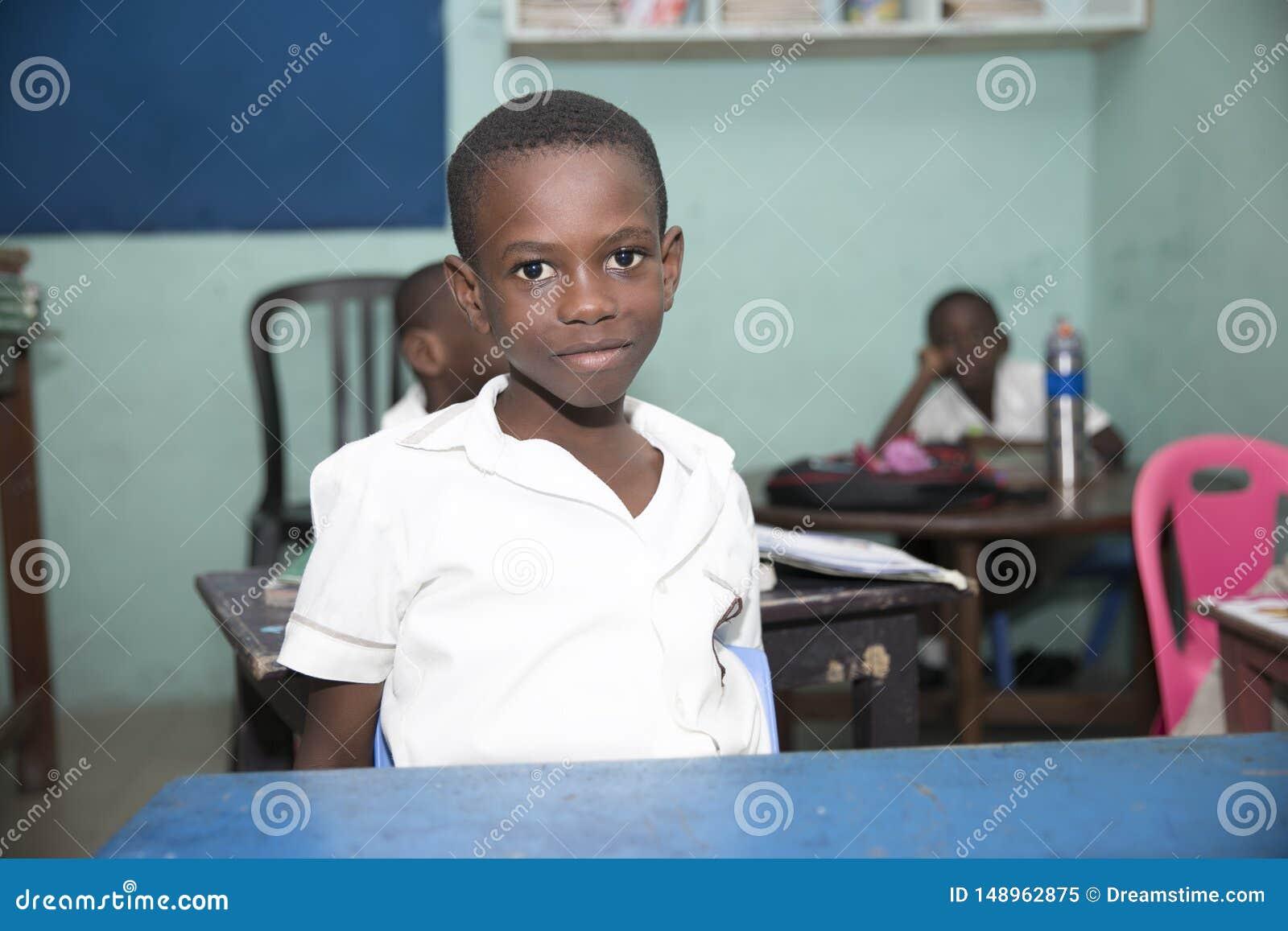 Grundschule-Kinder von Ghana, West-Afrika