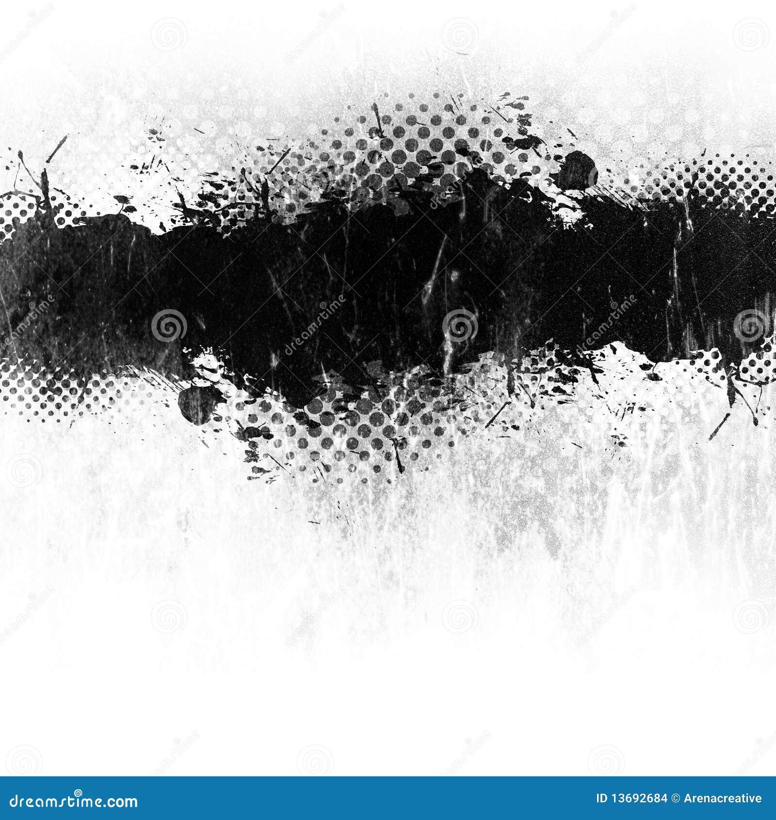 Grunge油漆泼溅物