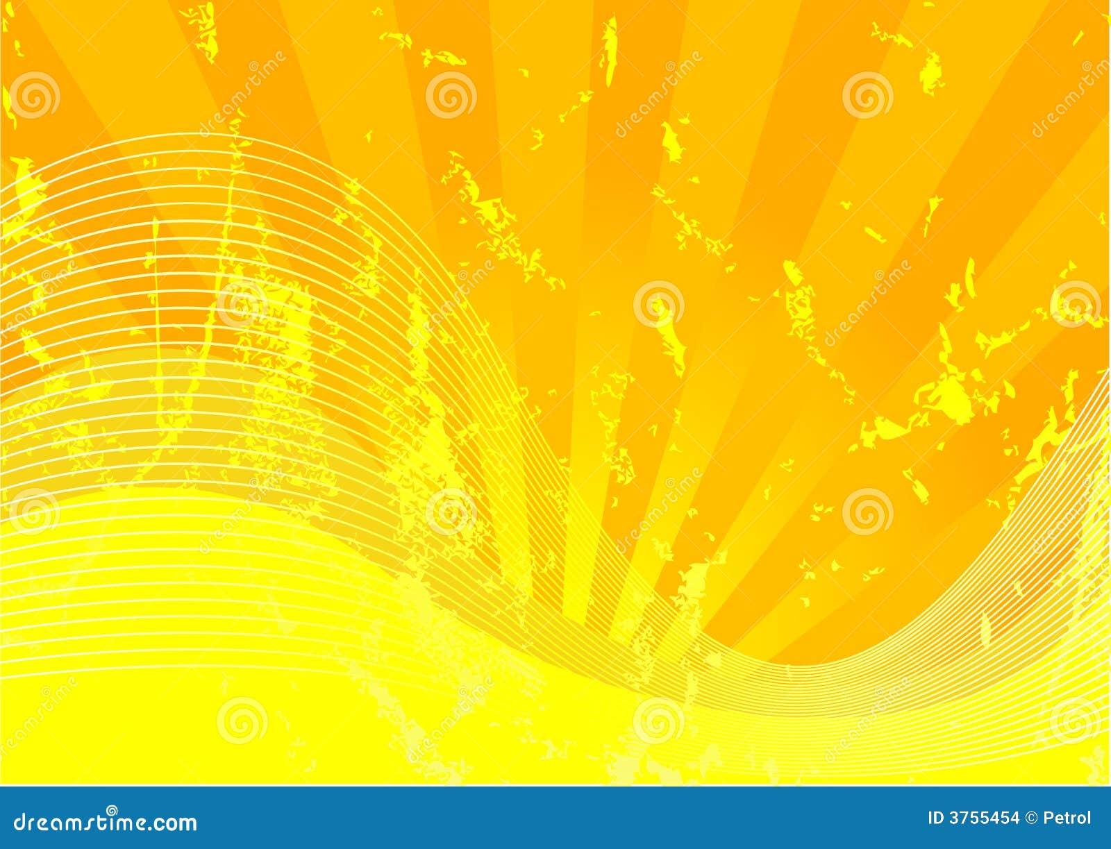 Grunge黄色