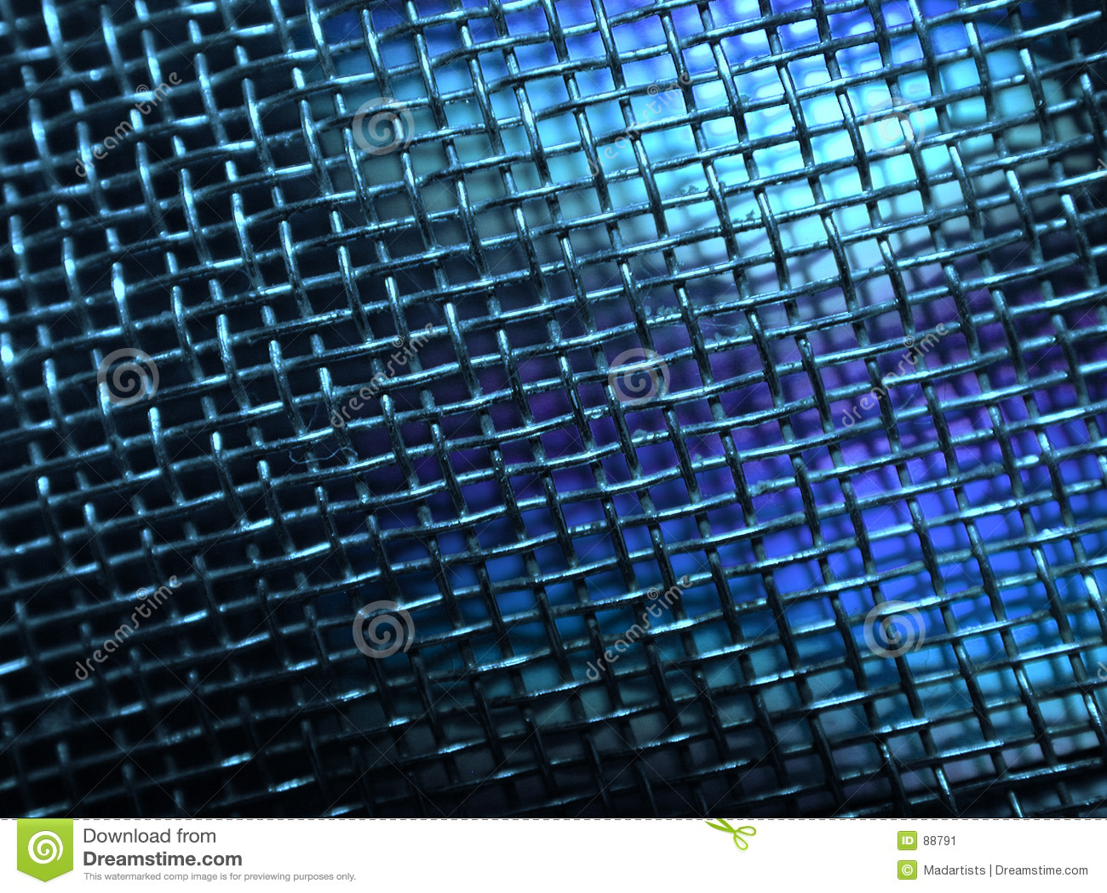 Grunge καλώδιο φωτογραφιών μετάλλων πλέγματος