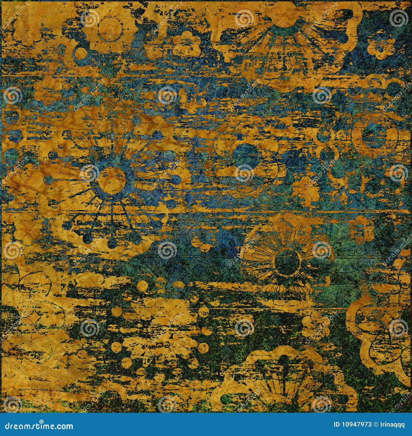 Grunge предпосылки абстрактного искусства