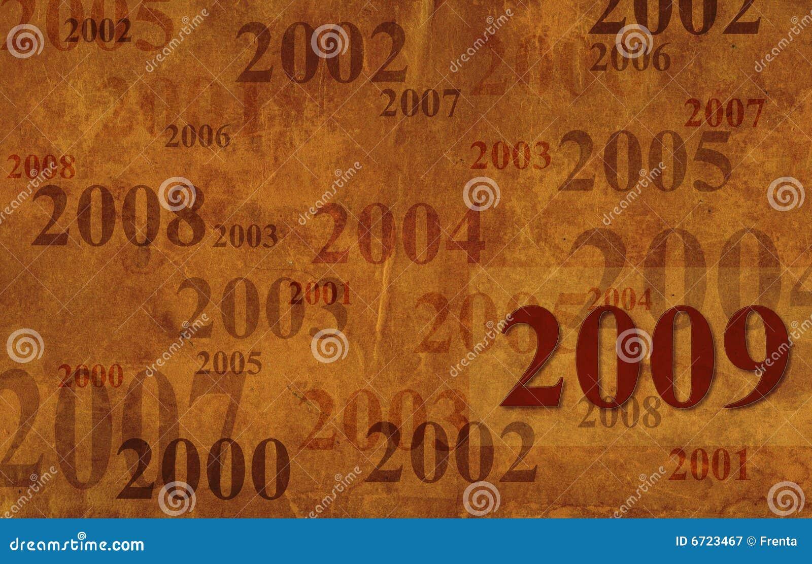 Grunge 2009 de fond