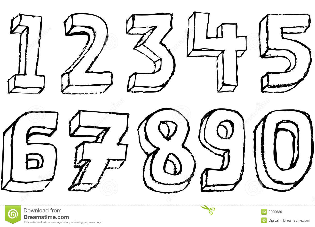 3 digit lottery number m design photography