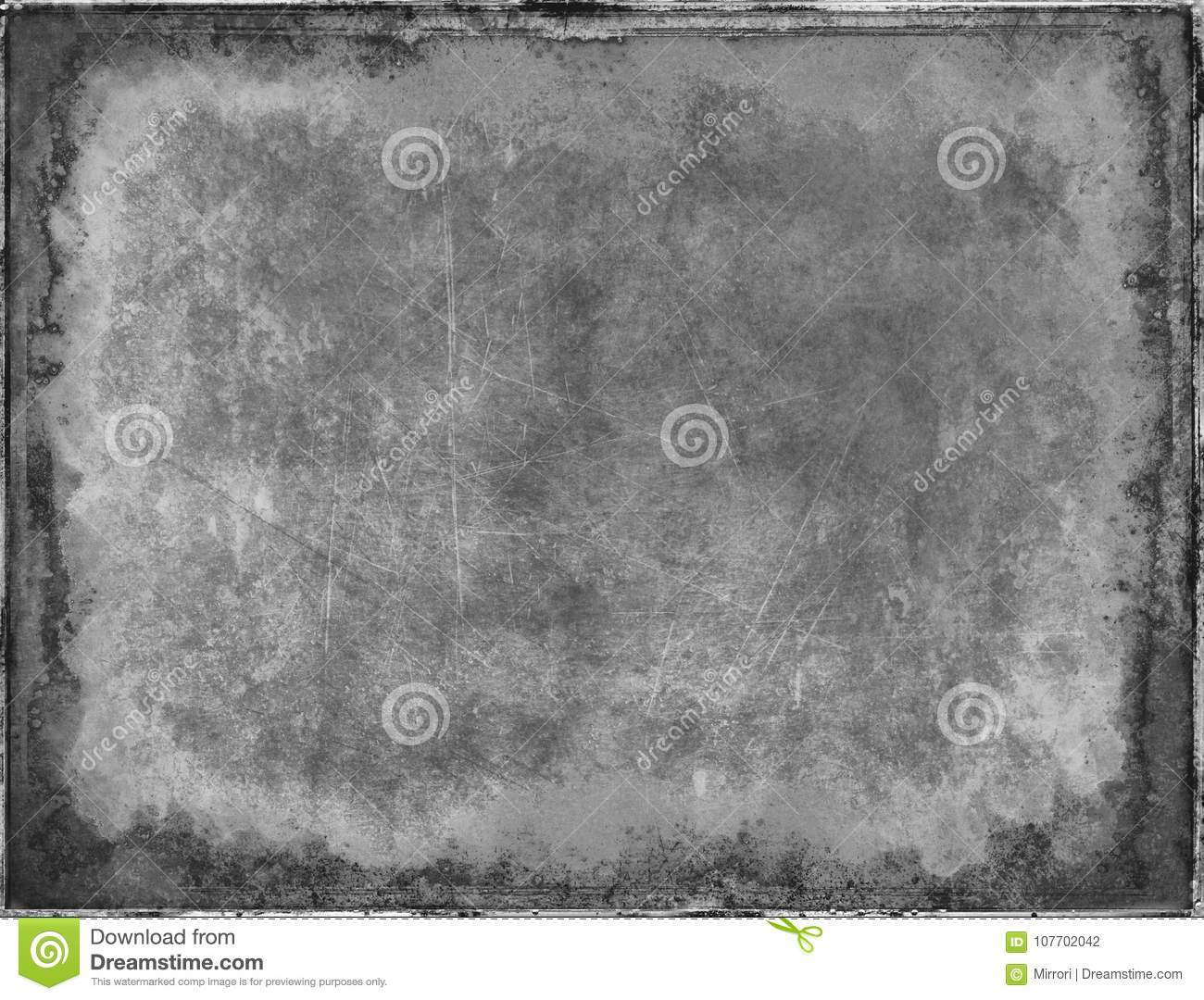 Grunge Abstract Background Black And White Color For Aging