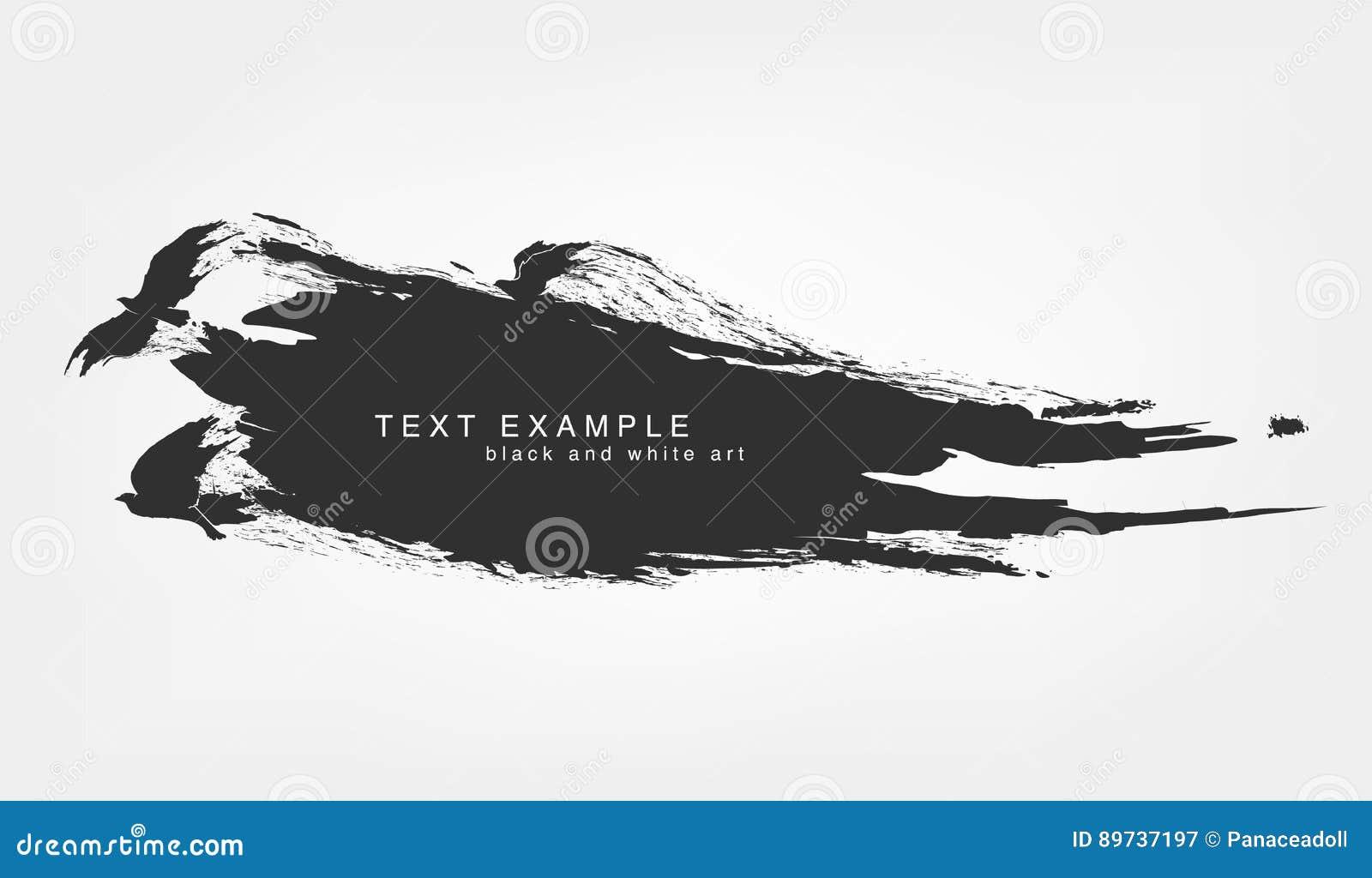 Grunge aislado extracto de la textura de la línea y de la pincelada con volar de los pájaros