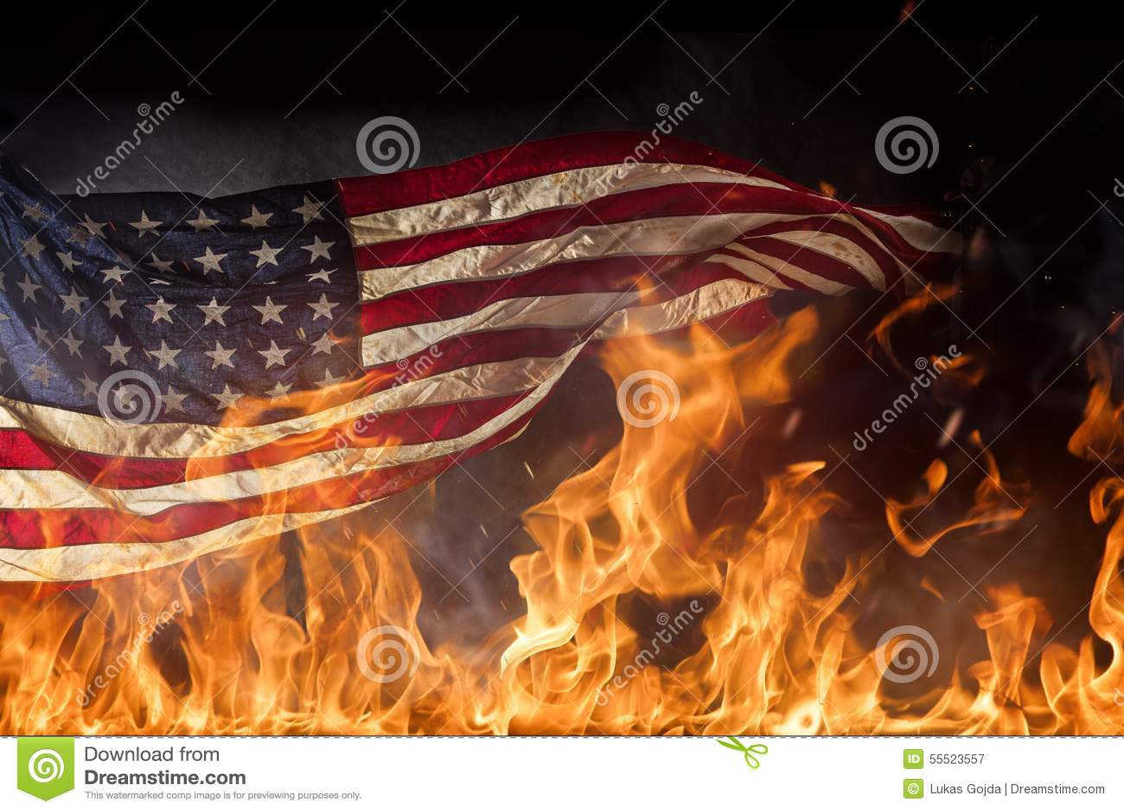 essay on american flag burning