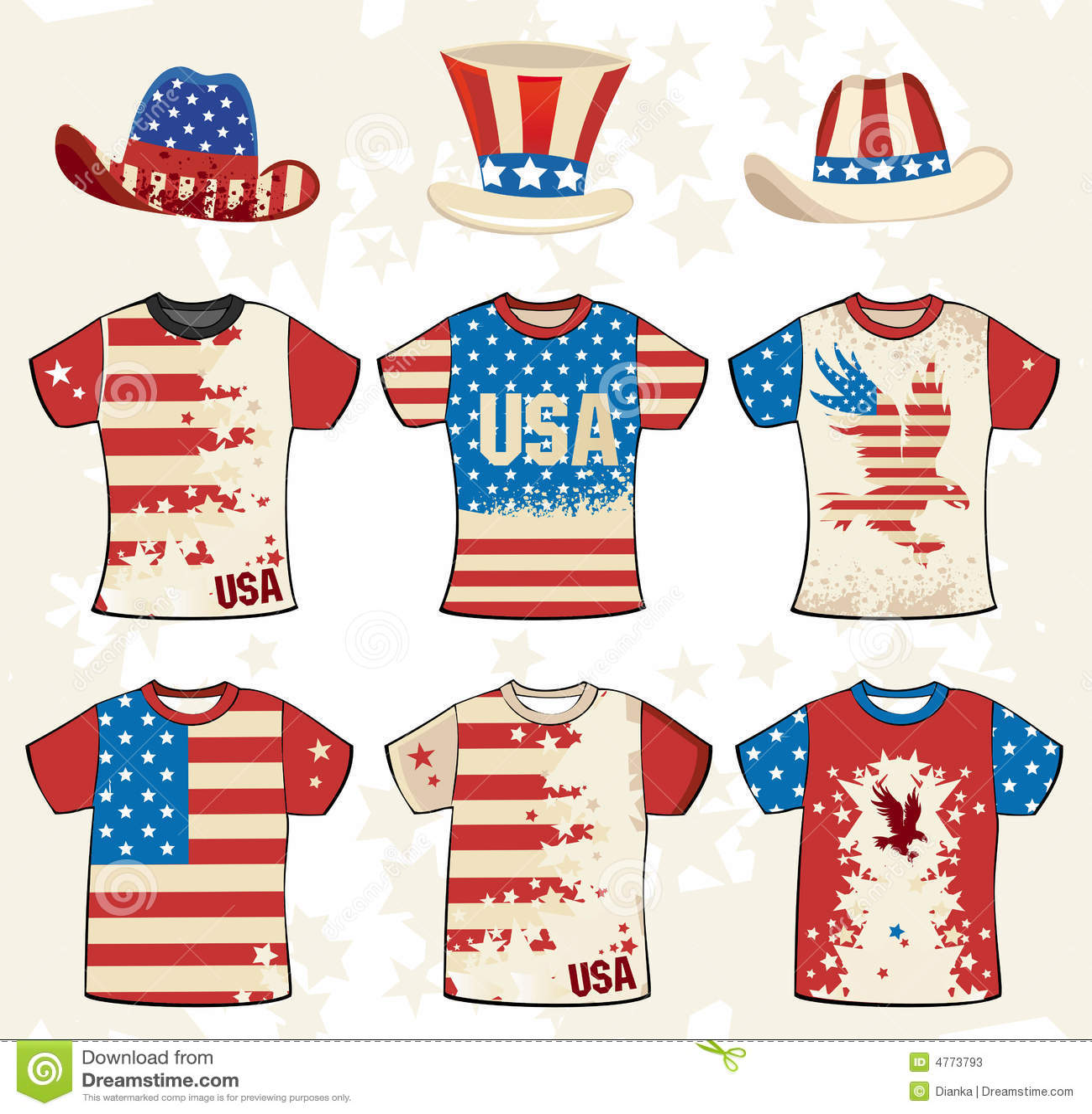 Grunge american t-shirt design