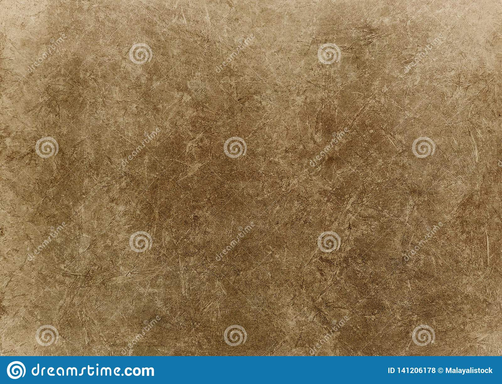 Grunge Background On A Light Brown Surface Stock ...