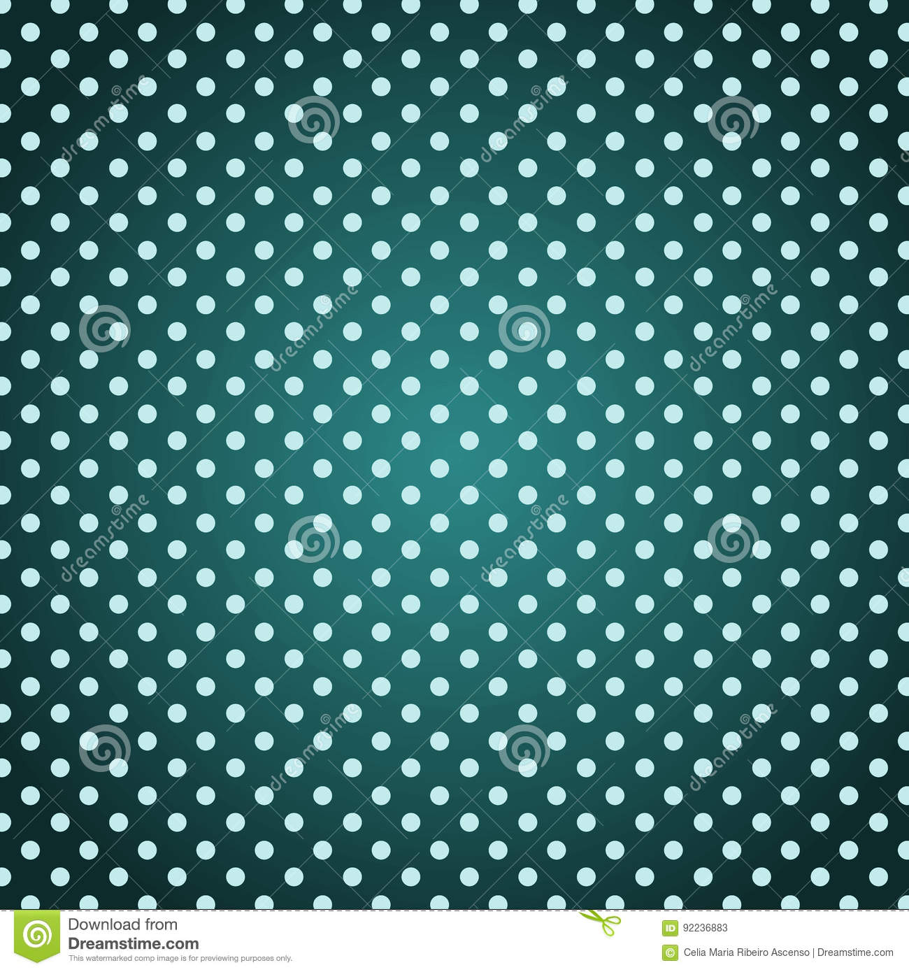 Grunge background polka dots