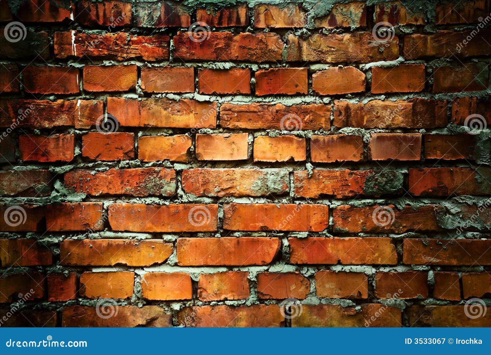 Grunge Backsteinmauerbeschaffenheit