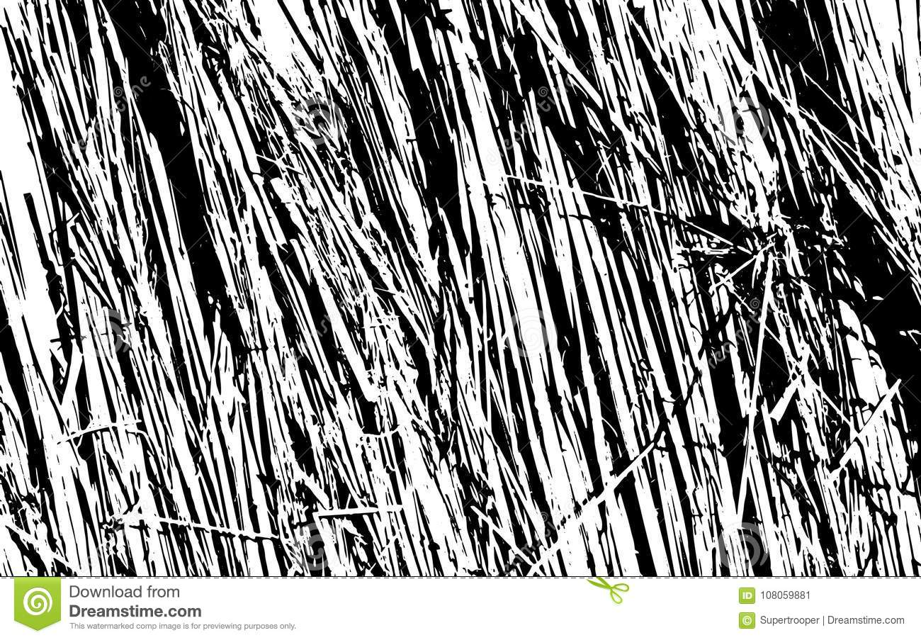 Download Black And White Grass Silhouette Texture Rustic Background Stock Vector