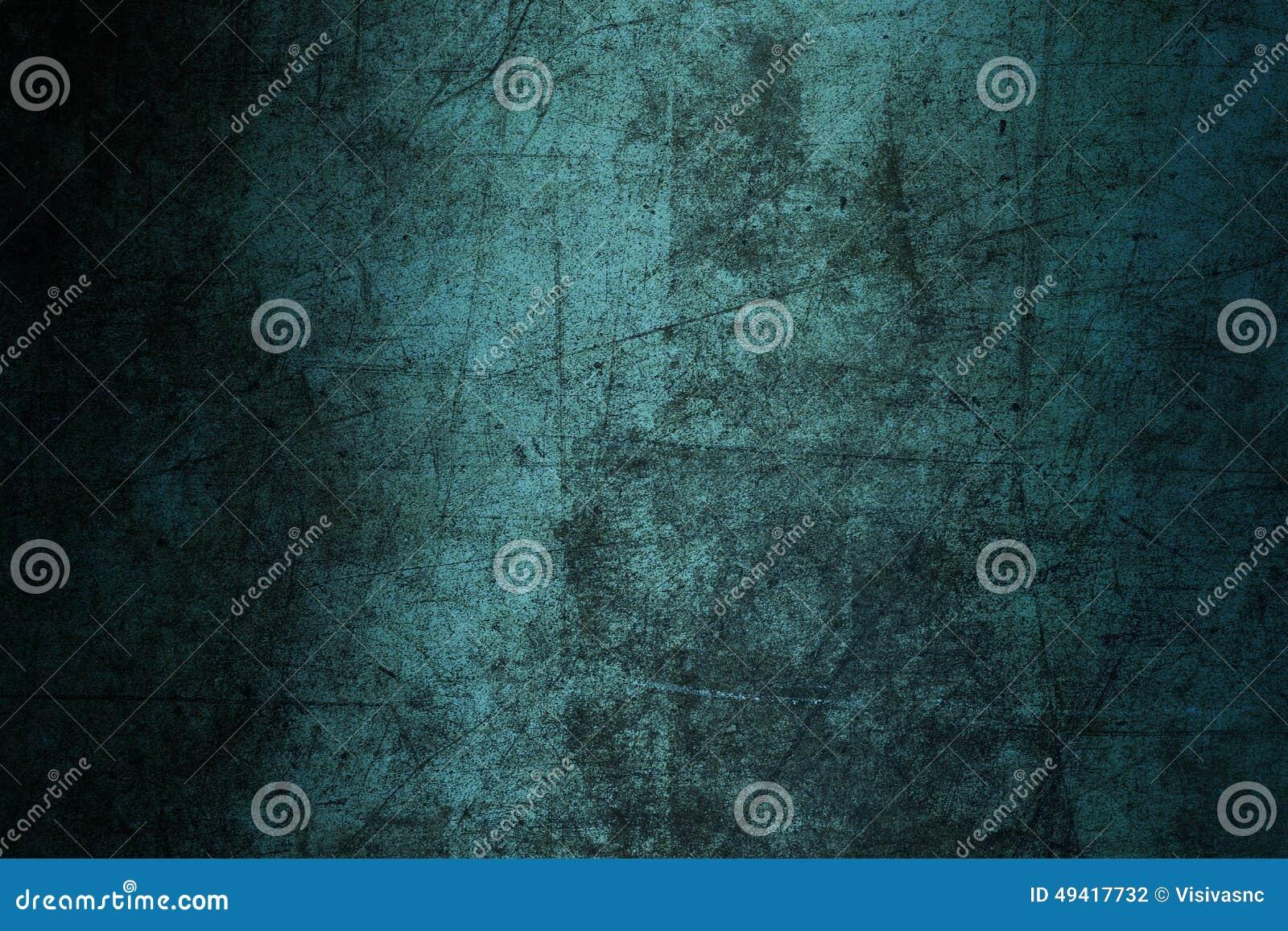 Grunge bleu d abrégé sur texture de mur de fond ruiné rayé