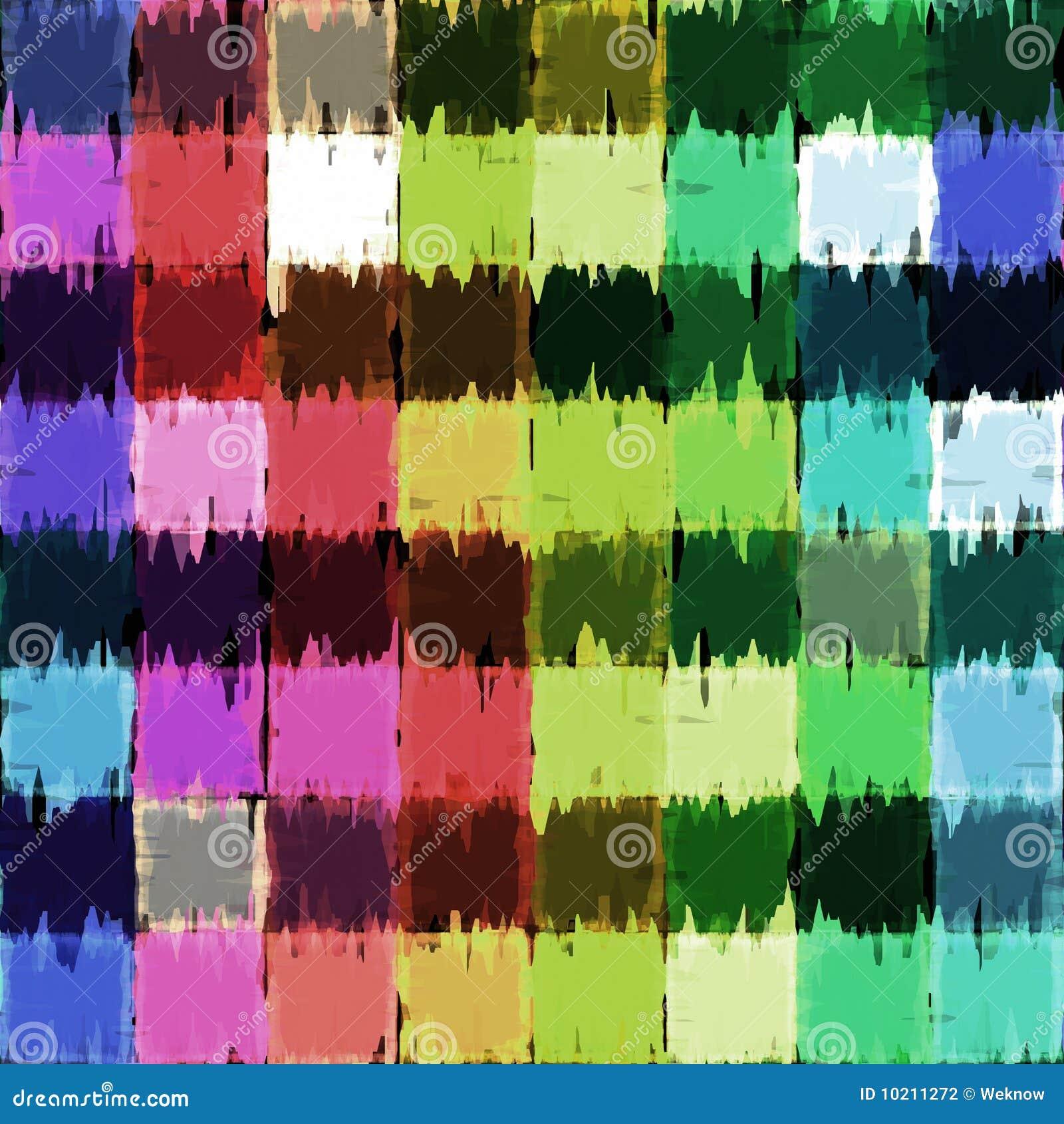 Grunge blocks canvas