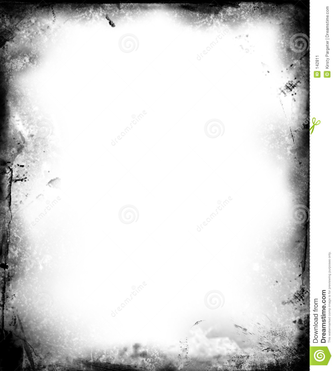 Grunge Border Stock Illustration Illustration Of Aging