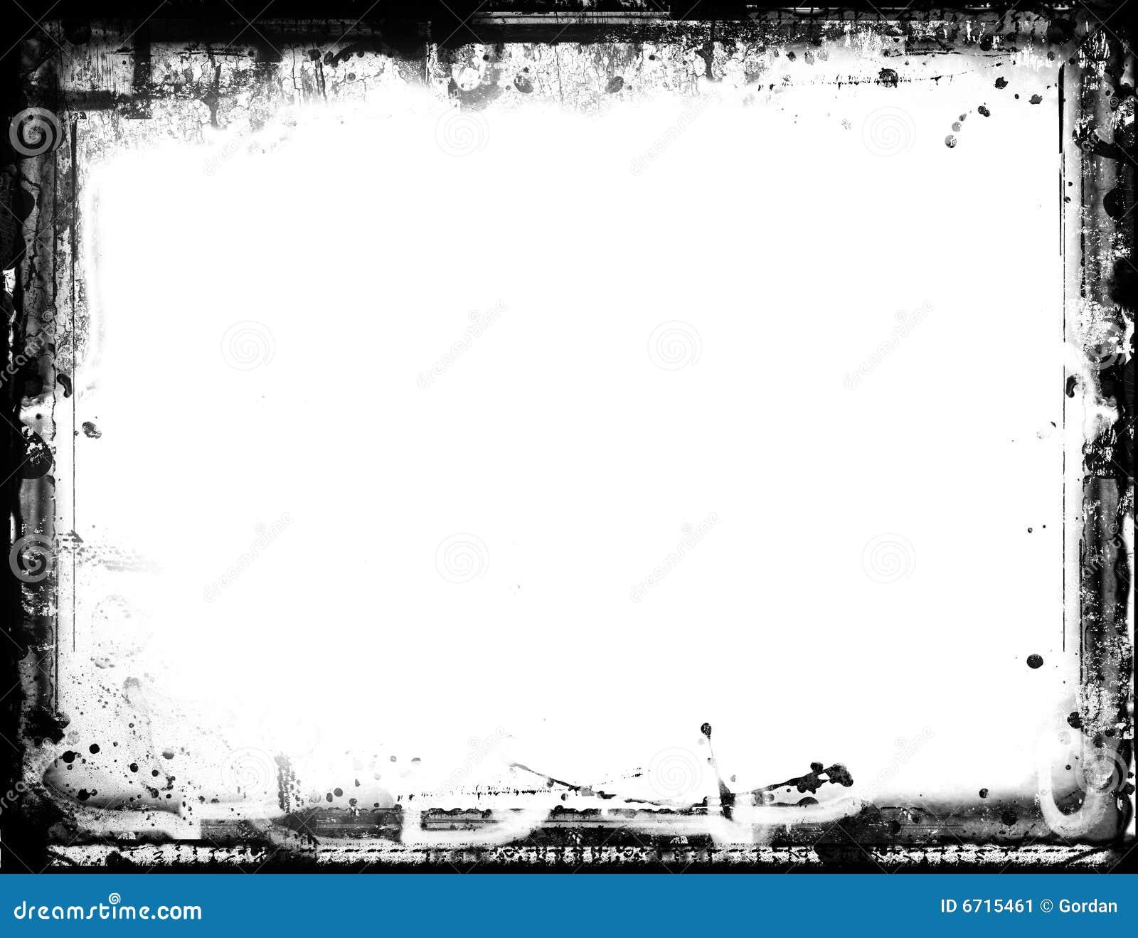 Grunge Border Stock Image Image 6715461
