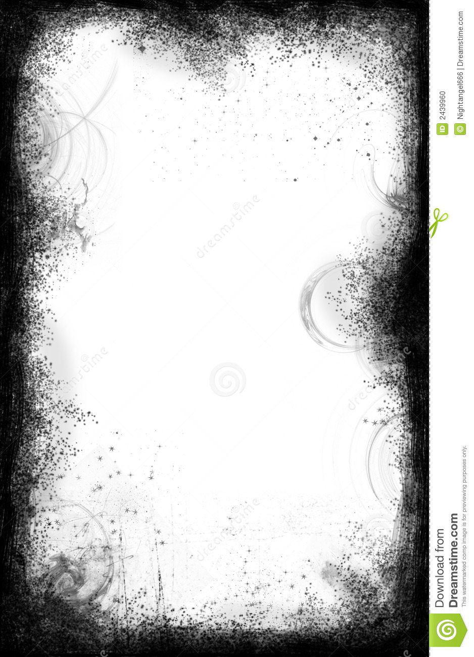 Grunge Border And Frame Stock Photo - Image: 2439960