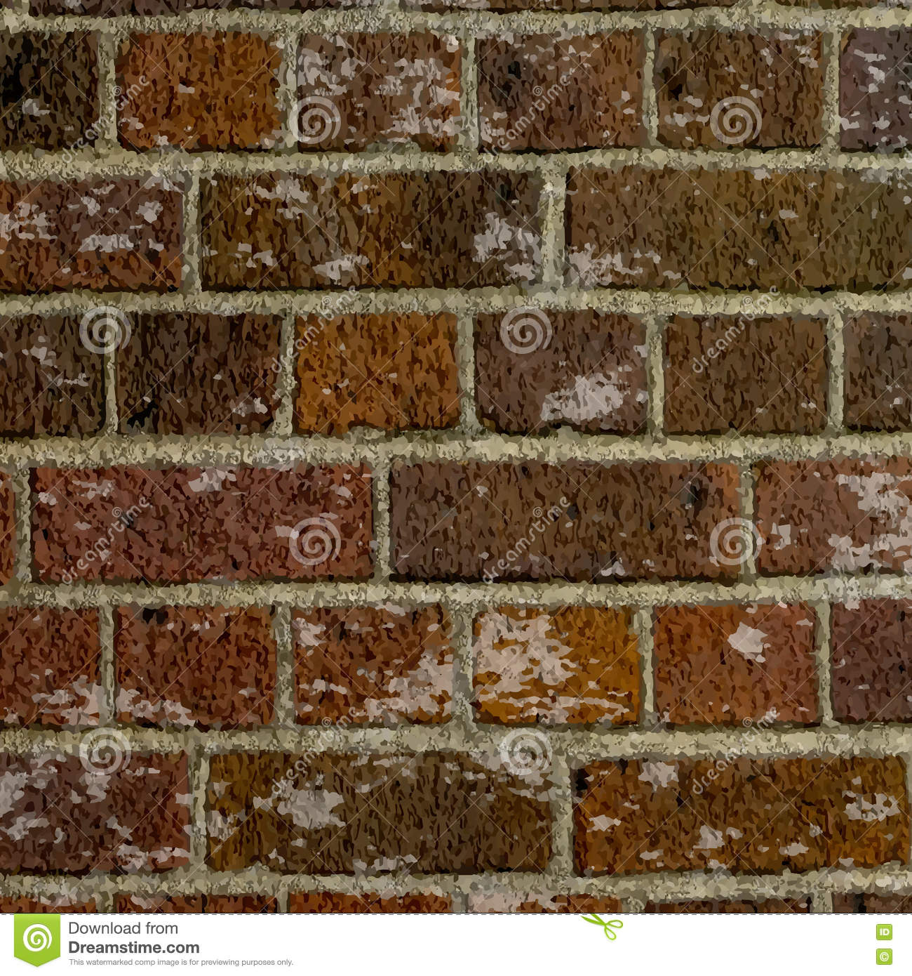 Grunge brick wall texture stock vector image of brick for Wall texture styles