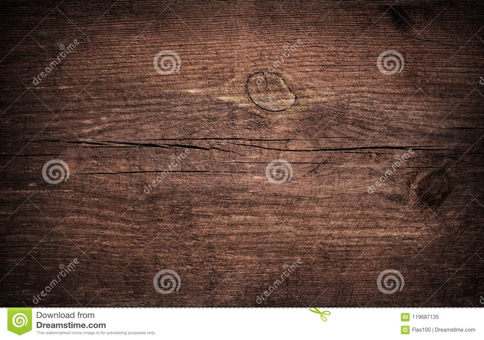 Grunge bruin gekrast houten knipsel, hakbord Houten Textuur