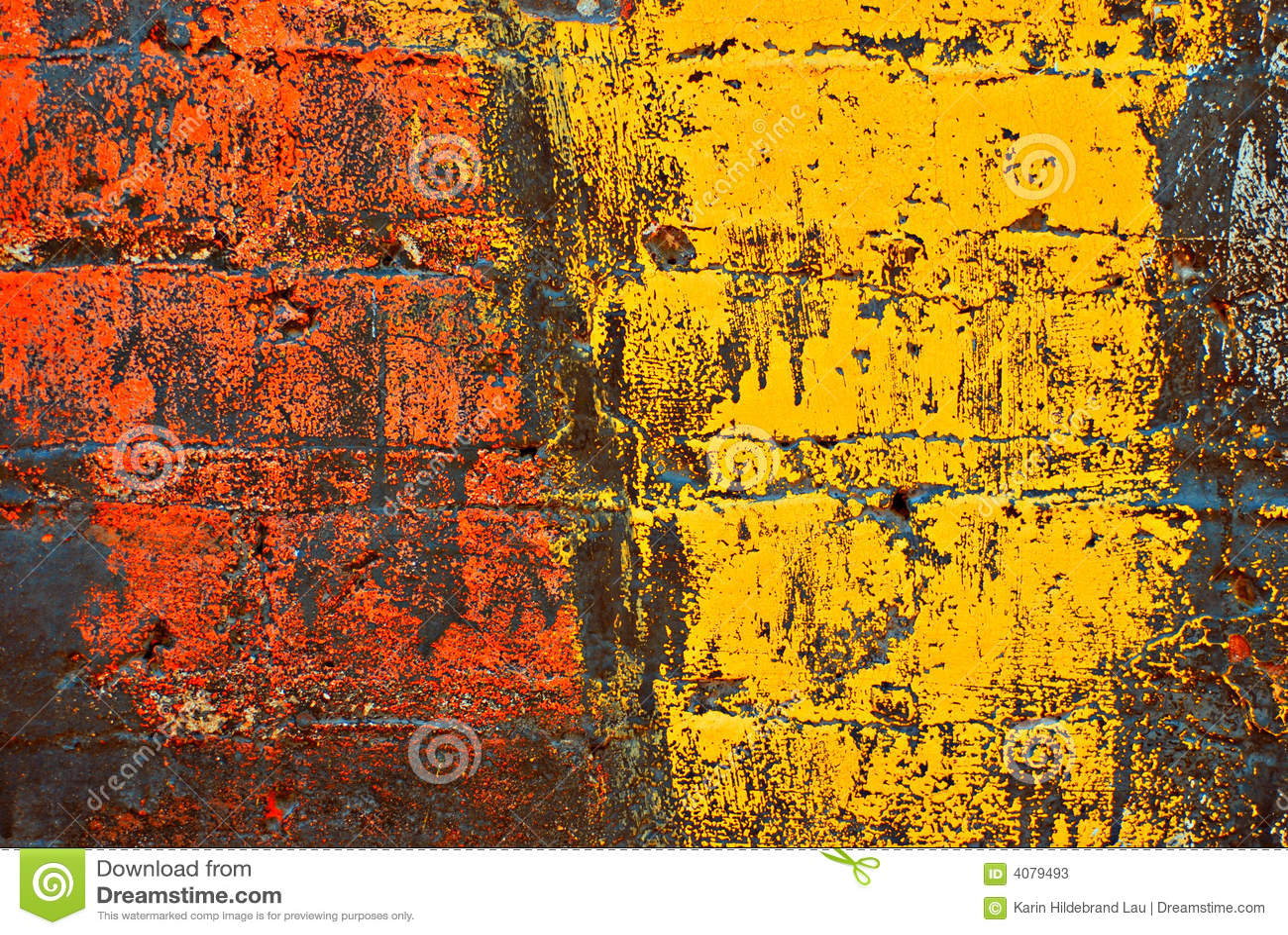Grunge cegła ściana płótna