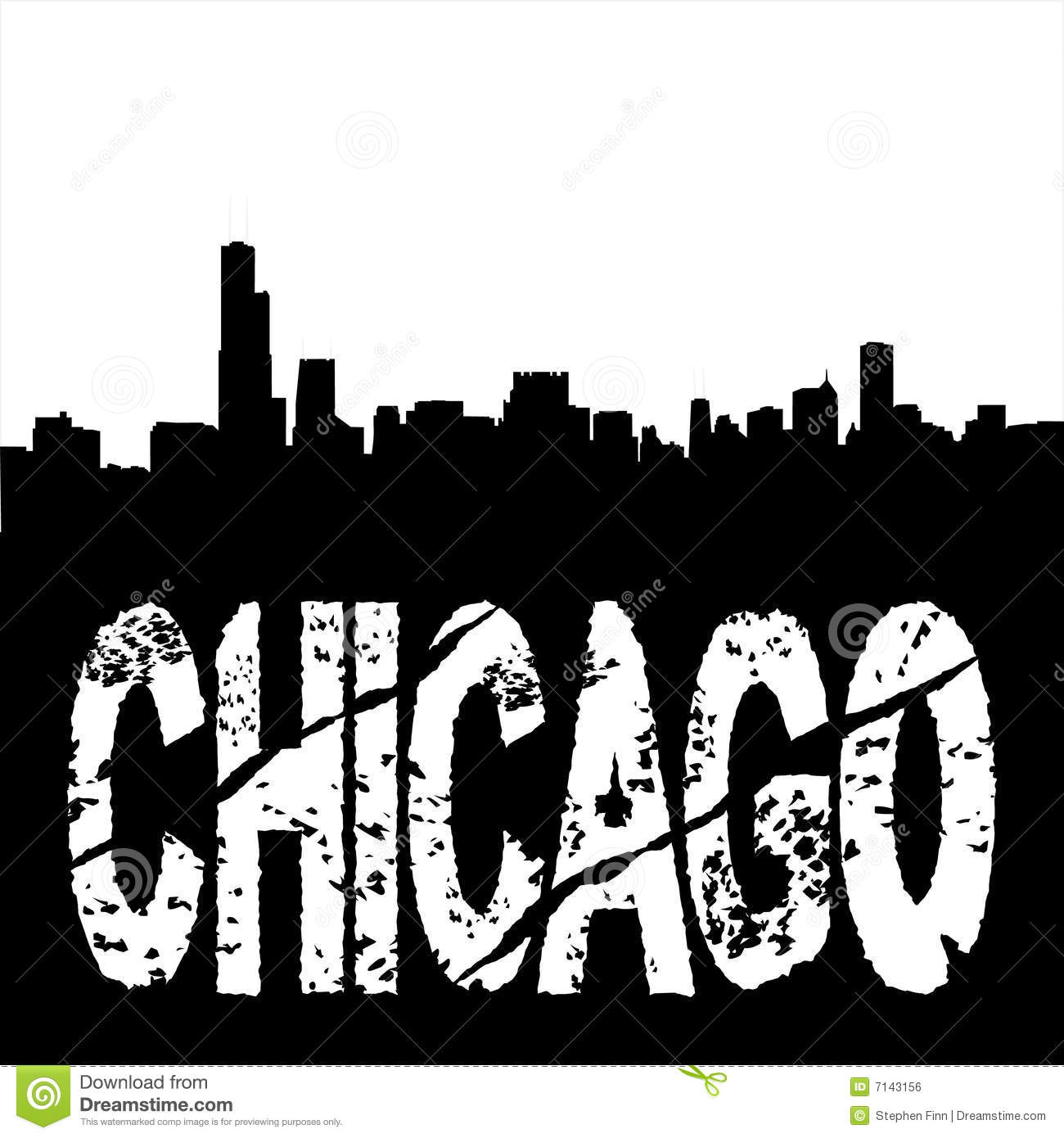 Free Coloring Pages Of Chicago Skyline Chicago Skyline Coloring Page