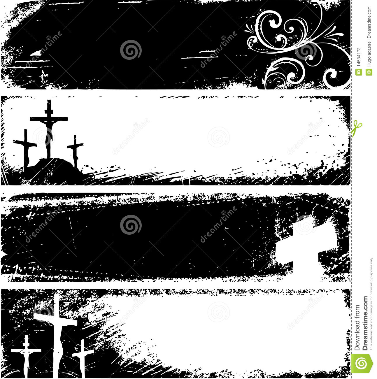 Grunge christian frames stock vector. Illustration of aged - 14584173