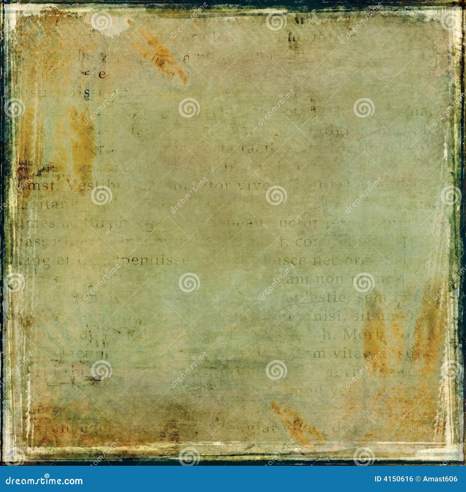 Grunge Collage mit Feld