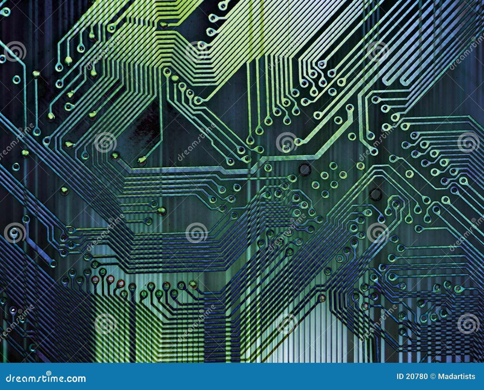 Grunge Computer-Hintergrund