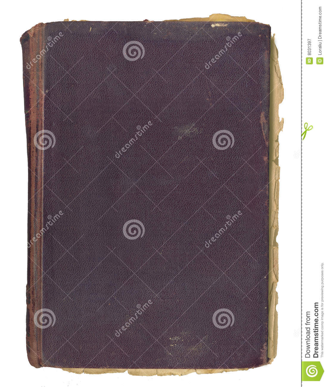 Grunge Book Cover Texture : Grunge cover for an album royalty free stock photo