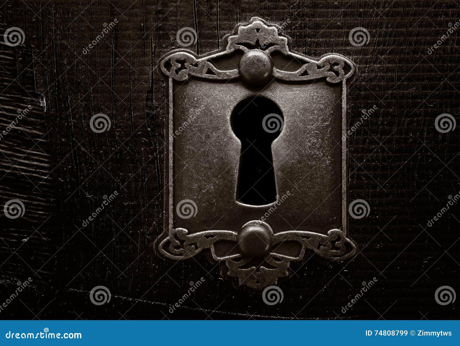 Grunge dörrlås