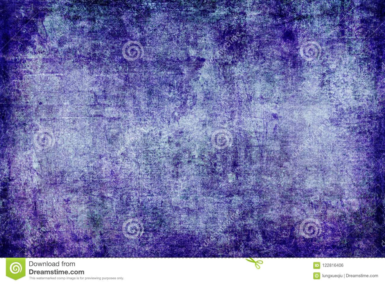 Grunge Dark Blue Purple Violet Rusty Distorted Decay Old Abstract