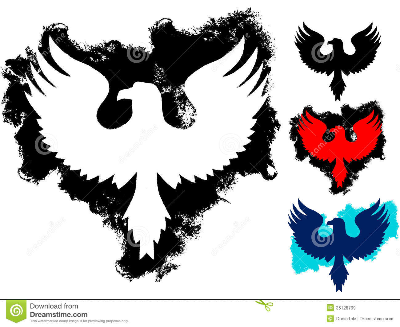 grunge eagle tattoo royalty free stock images image pheasant clip art silhouette pheasants clipart