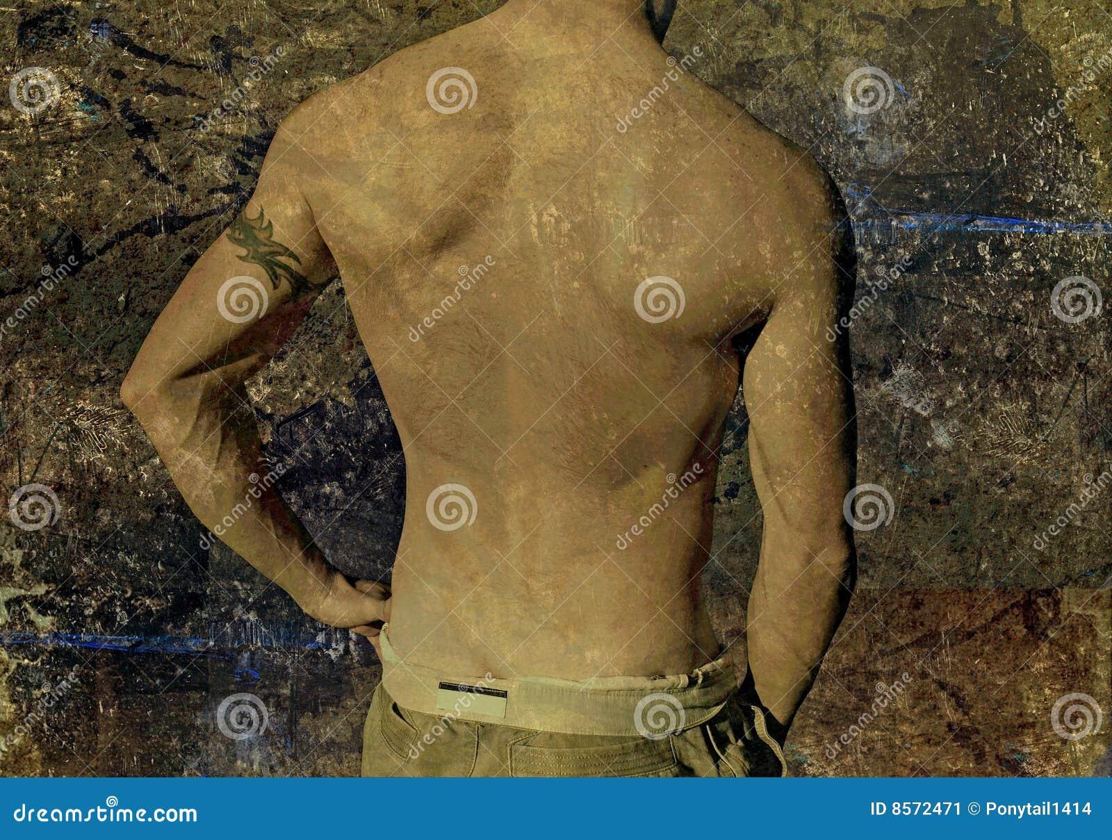 Grunge Faceta Tatuaż Obraz Stock Obraz Złożonej Z City