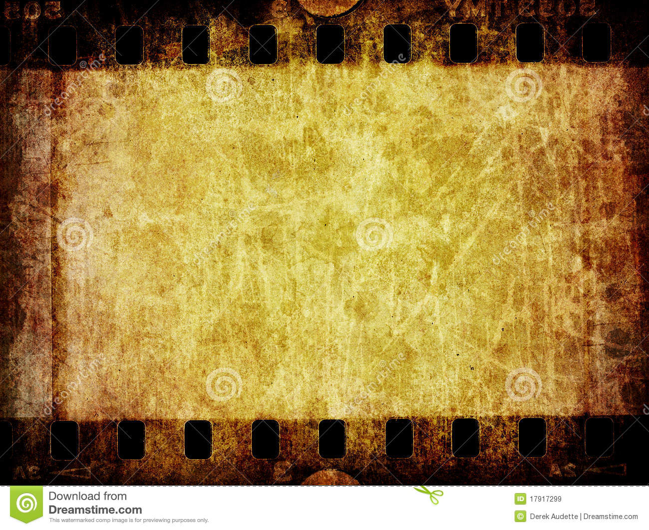 Grunge Film Negative Background Texture Stock Illustration ...