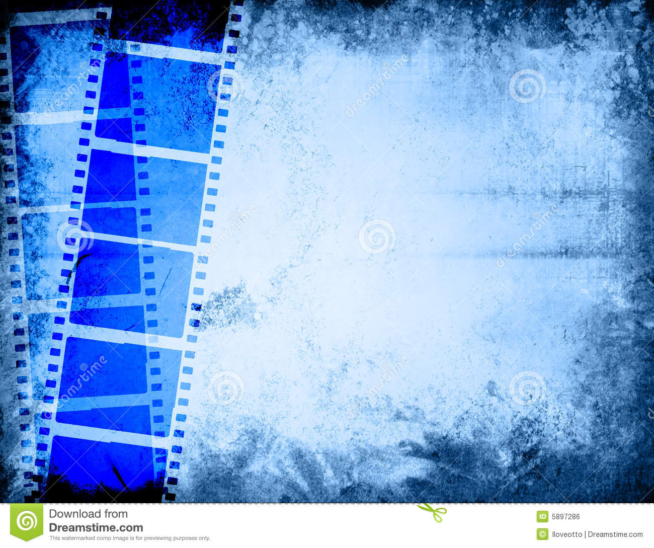 Great film strip for textures and backgrounds-with space for your text ...