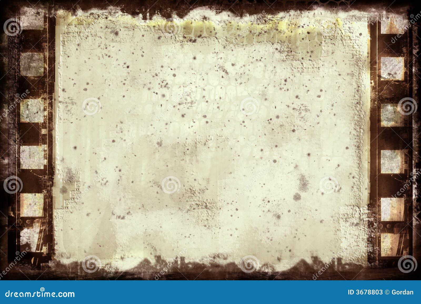 Grunge Filmfeld stock abbildung. Illustration von farbe - 3678803