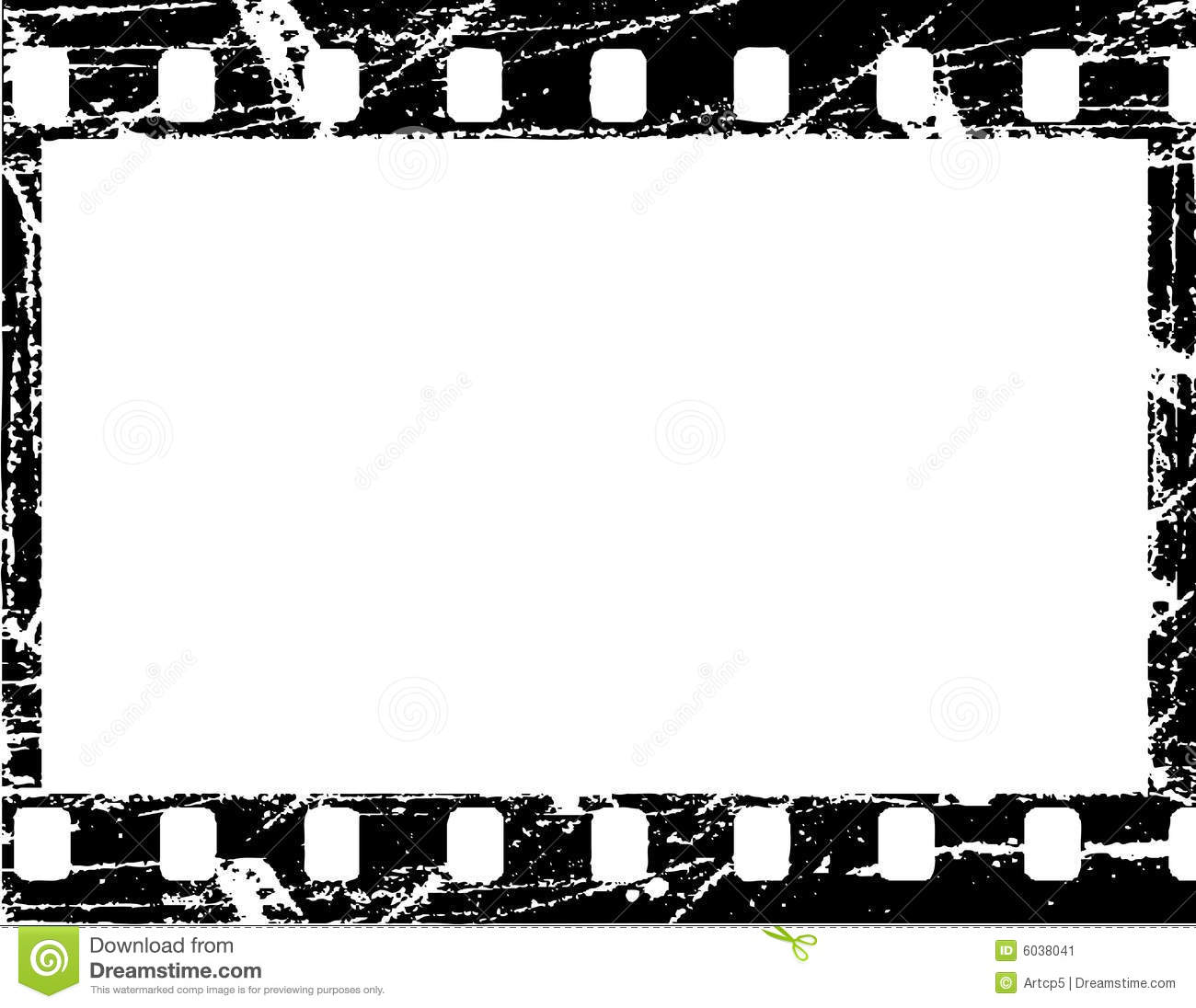 grunge filmstrip stock vector. image of film, grungy, 35mm - 6038041, Powerpoint templates