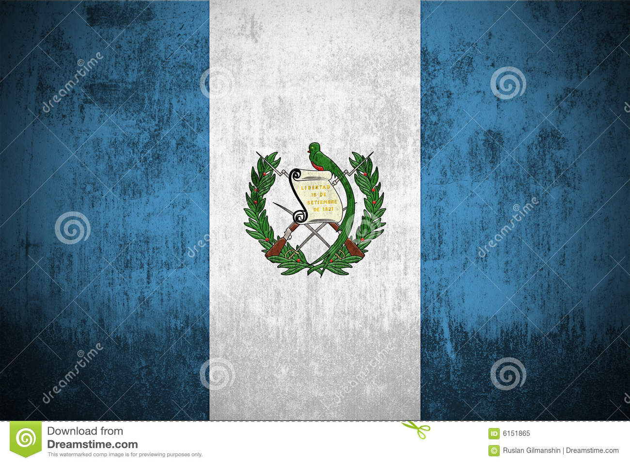 Images of Guatemala Grunge Flag By - #SC