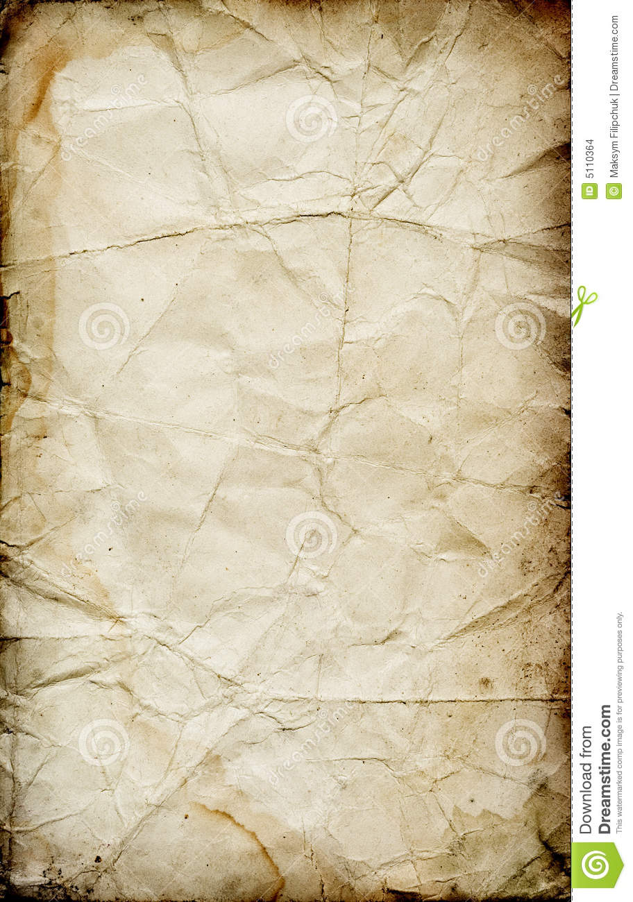 grunge folded paper texture stock photo