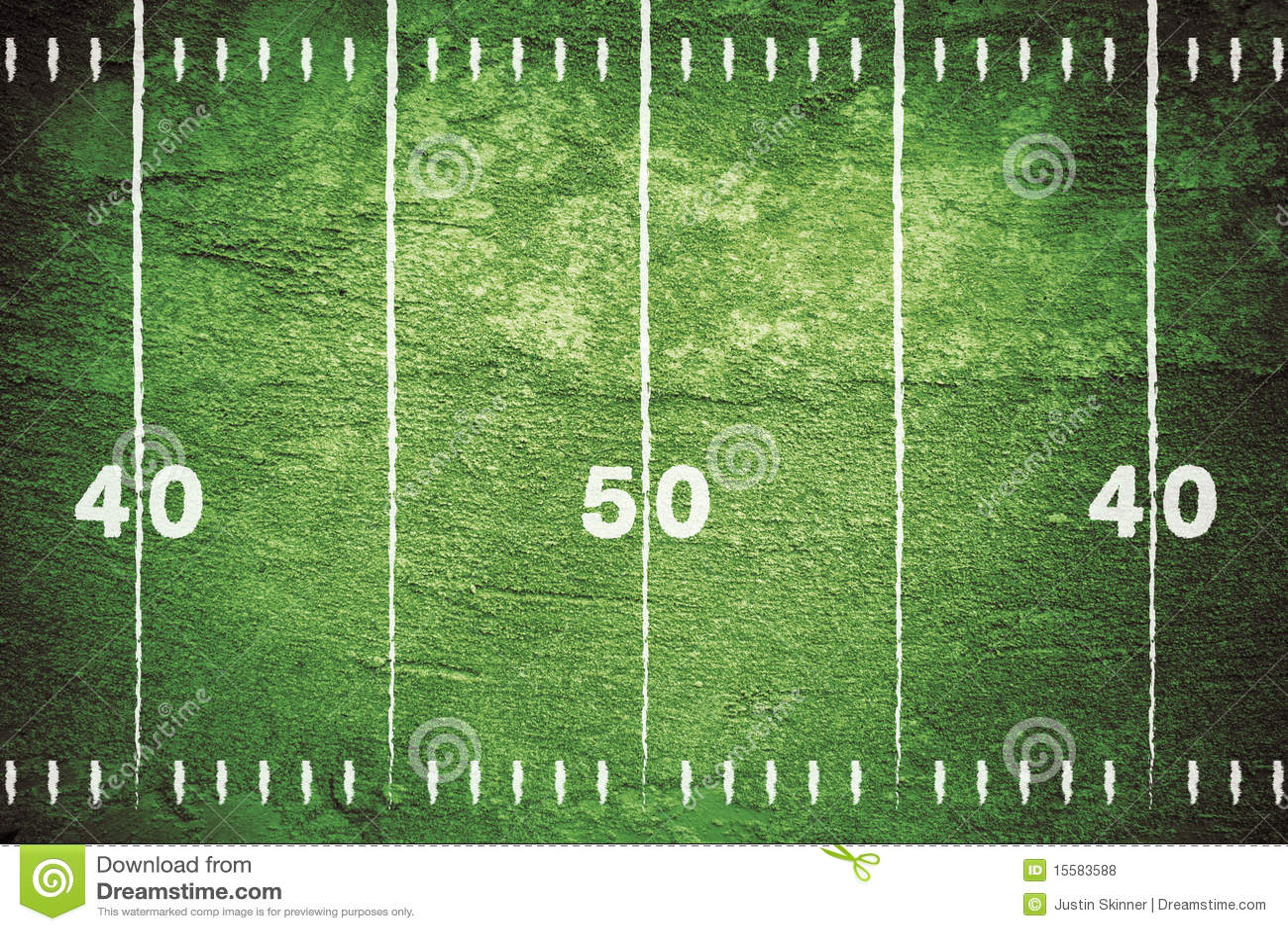 Grunge Football Field Stock Illustration Of