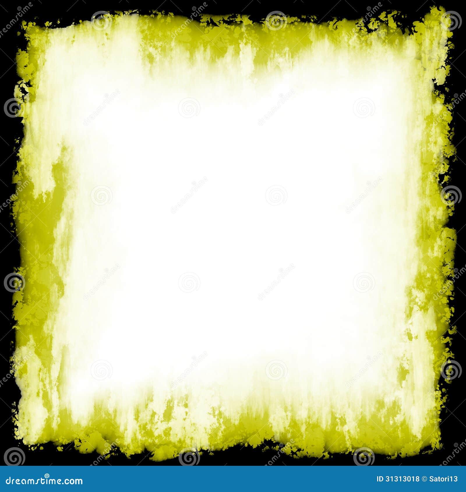 Grunge frame stock illustration. Illustration of yellow - 31313018