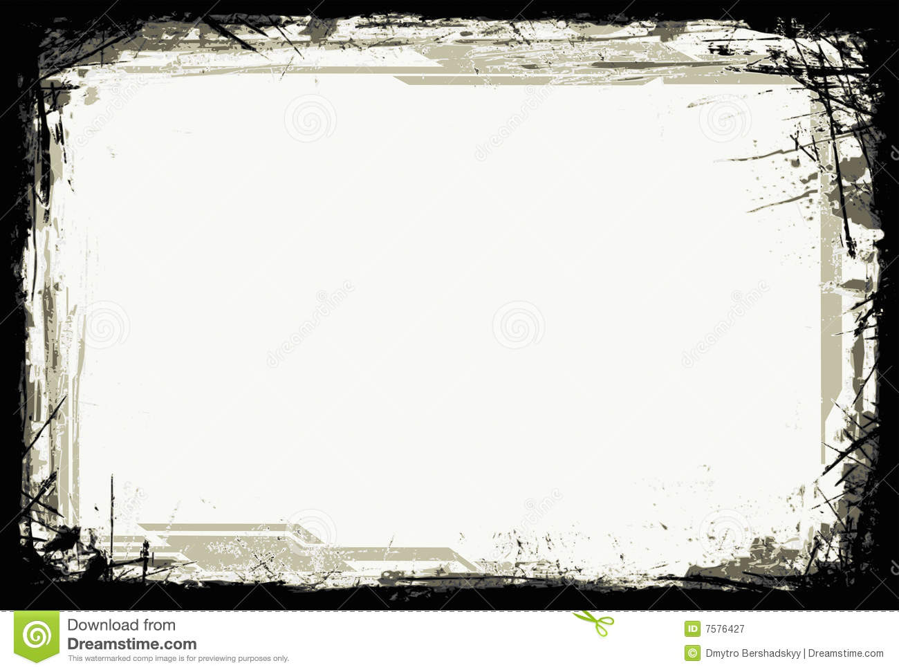 Grunge Frame (Vector) Royalty Free Stock Photography