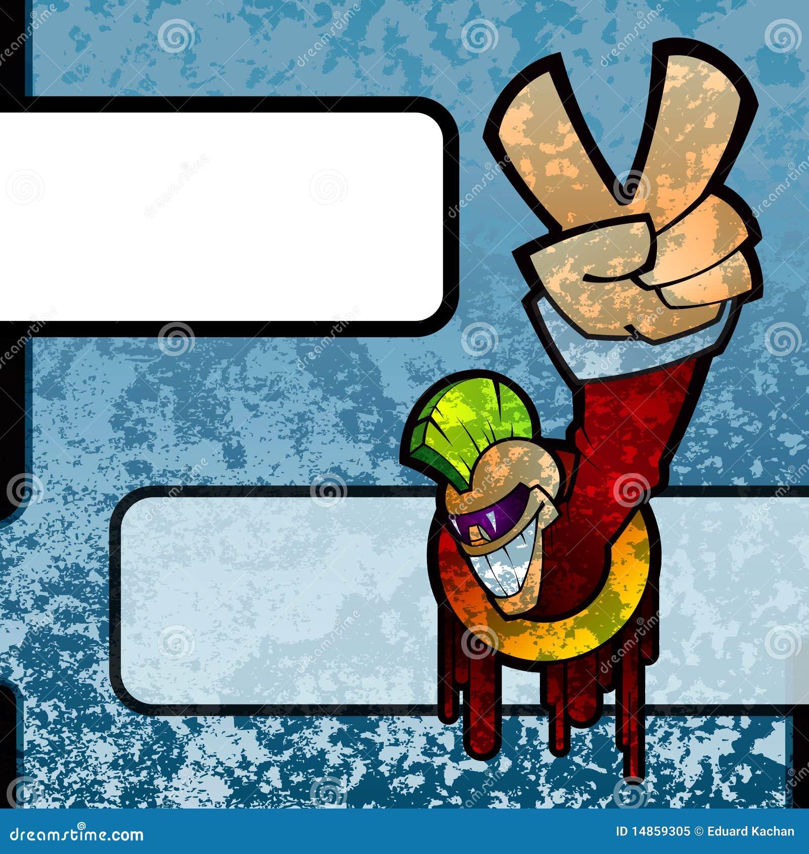 Download Grunge graffiti stock illustration. Illustration of messy - 14859305