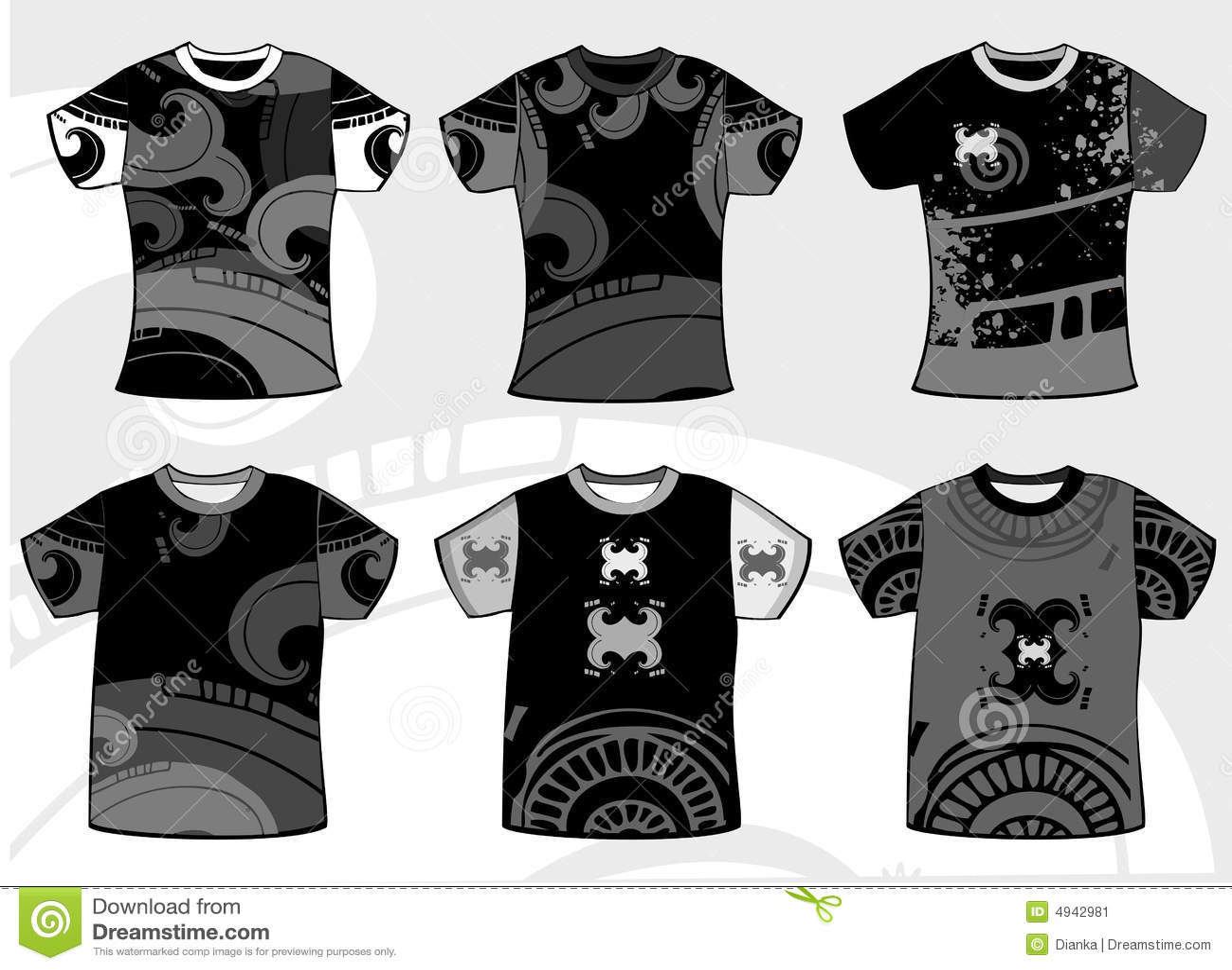 Black t shirt grunge - Design Graphic Grunge Shirt T